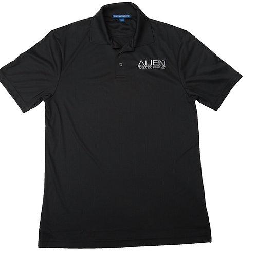 Alien Research Center, Black Logo, Golf Shirt