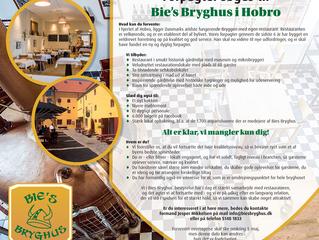 Bie´s Bryghus søger ny forpagter