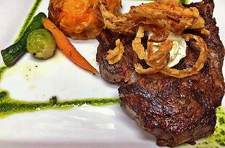 The Palms Restaurant Fresno, CA Prime Bone-in Ribeye Steakhouse