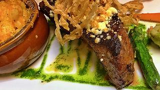 The Palms Restaurant Fresno, CA Prime New York Steak Steakhouse
