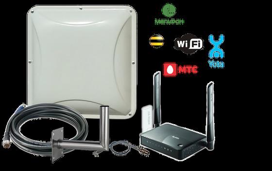 GSM-WiFi интернет комплекты
