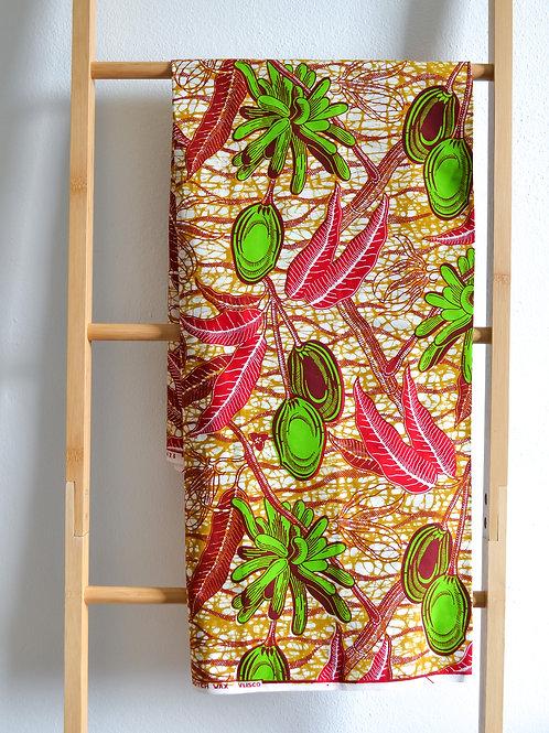 Green Olive Pattern (2 metres)