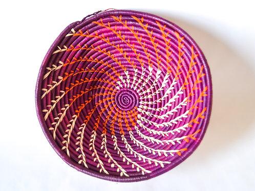 Handwoven Basket Bowls - Intricate Patterns