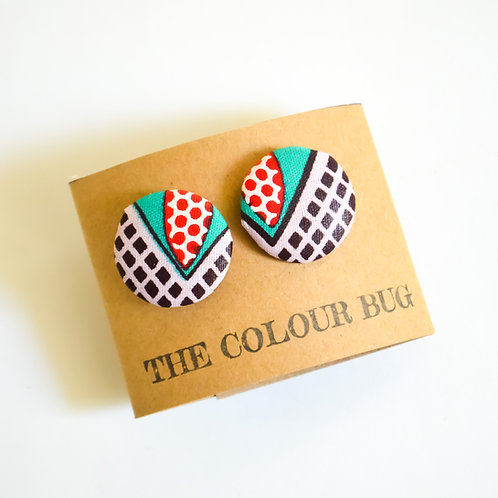 Big Bugs Stud Earrings (Various Colours)