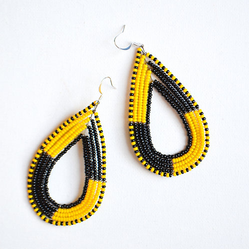 Masai Diva Drop Earrings (2 colours available)