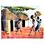 Thumbnail: A Scene from the Masai Village - Artwork (unframed) - 30 x 40 cm