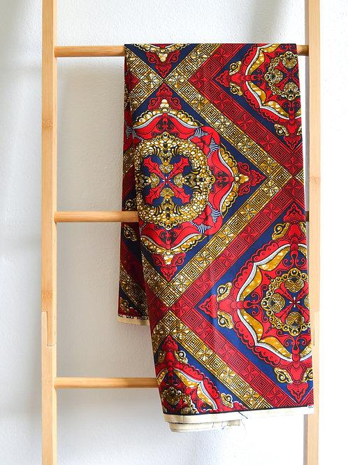 Intricate Maroon Pattern (2 metres)