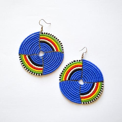 Bold Masai Earrings (2 colours available)