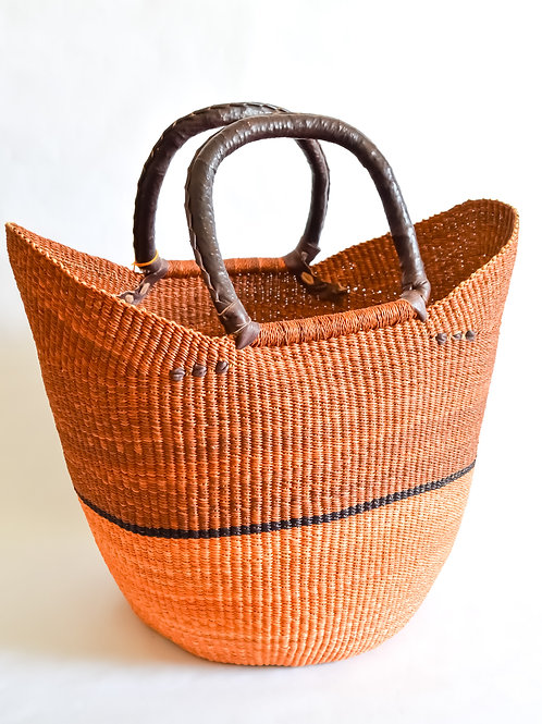 Handwoven Market Basket (Earthy Collection)