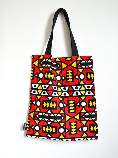 Reversible Tote Bags (Reds and Yellows Collection)