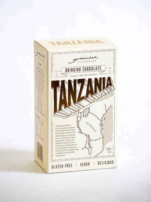 Single Origin Tanzania Drinking Chocolate 200 gm