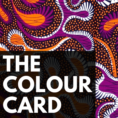 The Colour Card - $50 Gift Voucher