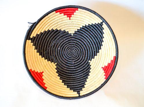 Handwoven Basket Bowls - Blacks