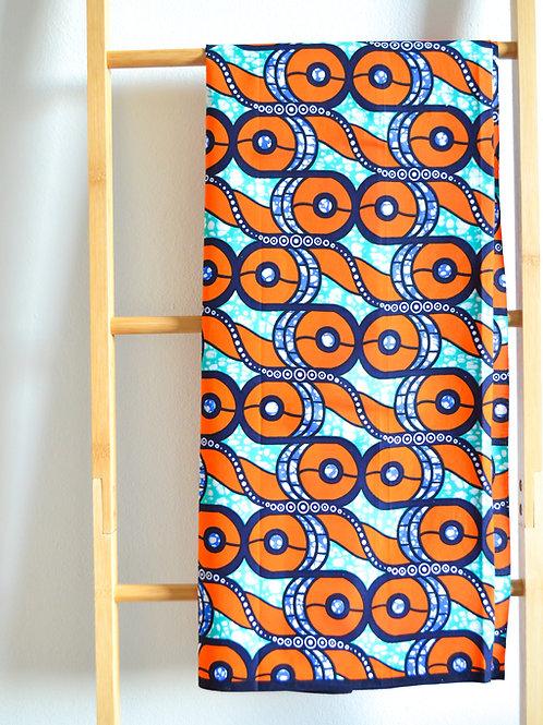 Orange Abstract Pattern (2 metres)