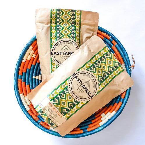 Coffee & Handmade Basket Hamper