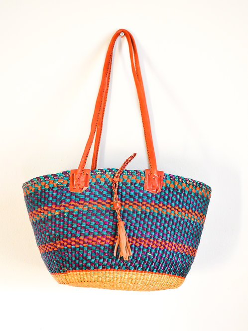 African Tote Basket