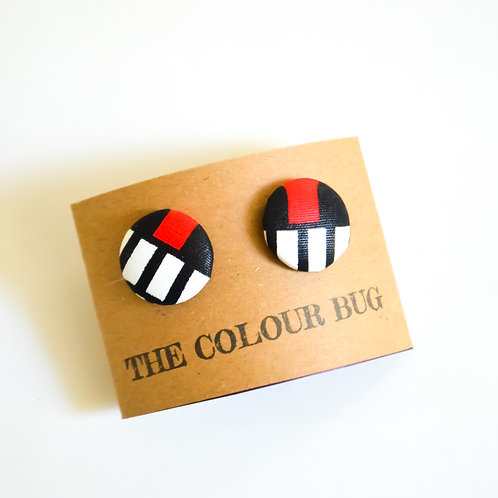 Small Bugs Stud Earrings (Various Colours)