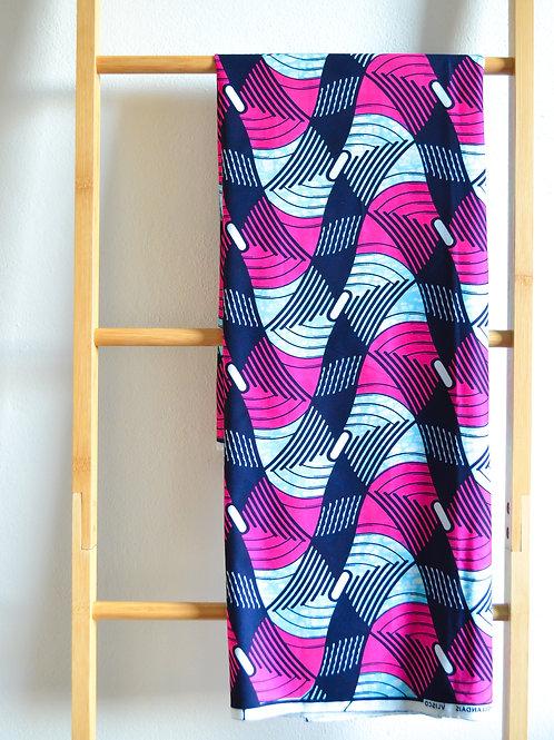 Pink Wave Pattern (2 metres)