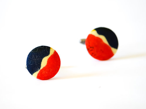 Small Bug Cuff Links (Various Colours)