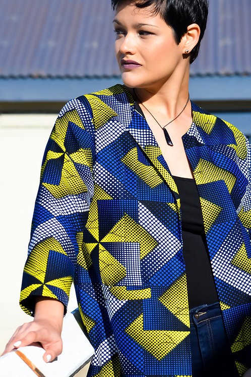 Occasional Artist's Jacket Round Neck (Multiple Colours)