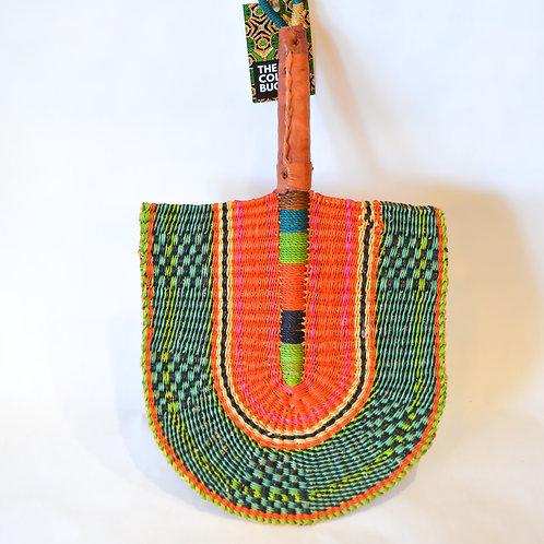 Handwoven African Bolgatanga Fans