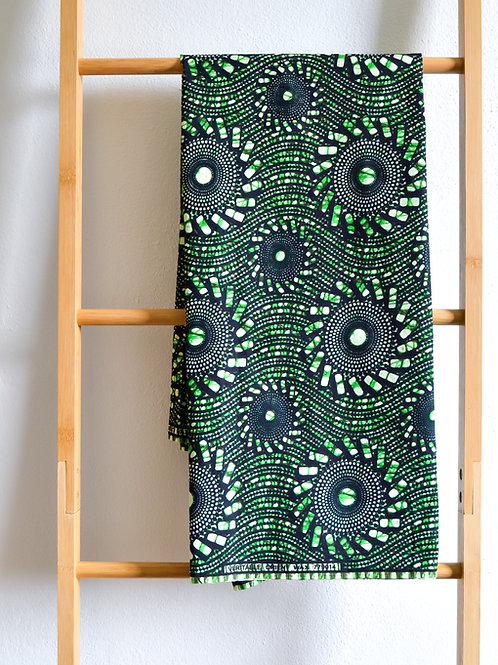 Green and black Pattern (2 metres)