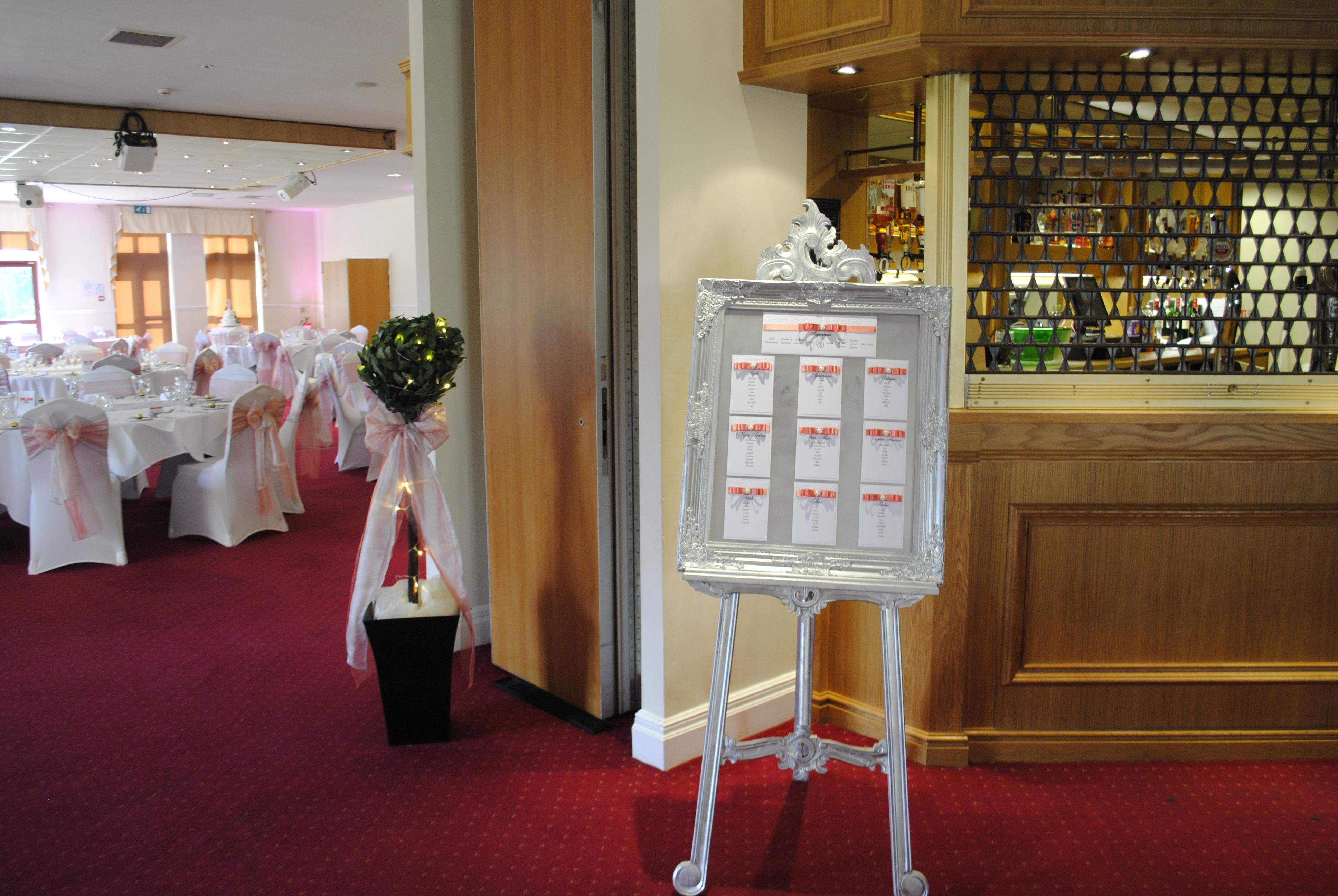 Dior Bow Table Plan