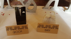Art Deco Name Cards
