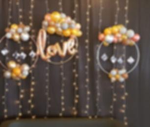 Love Hoop balloons