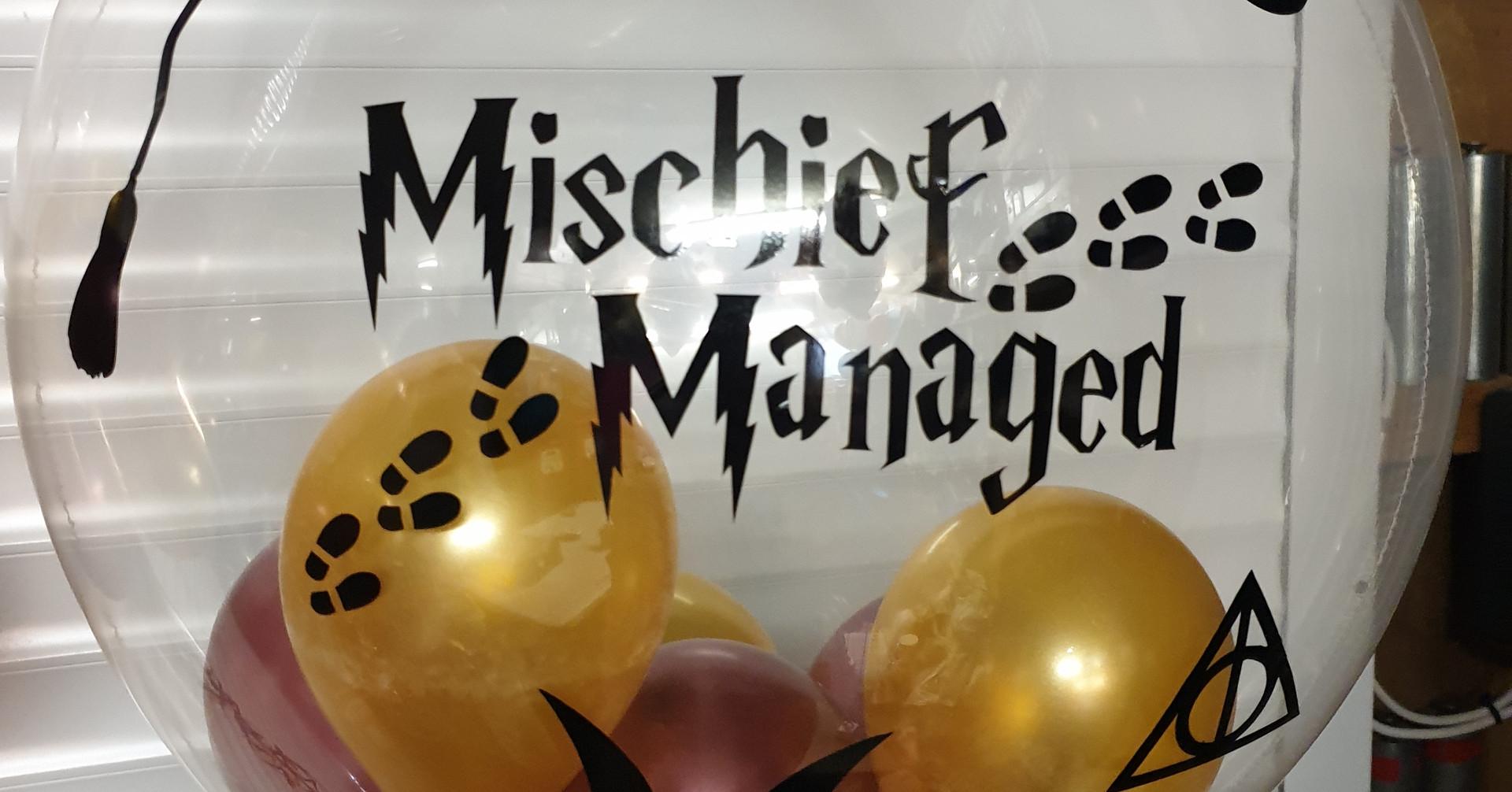 Mischeif managed bubble balloon