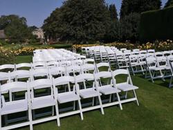 White Folding Chair Hire