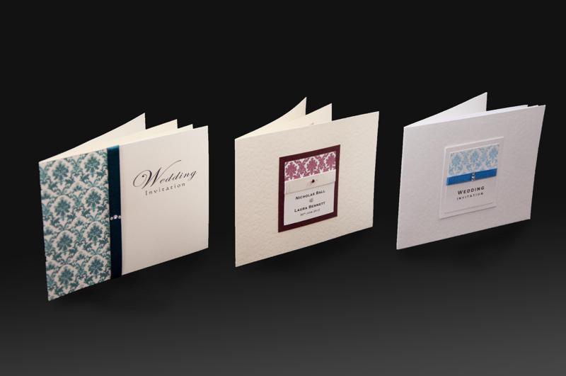 Standard invitation designs x3