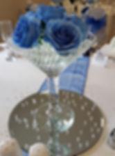 Small Martini vase hire