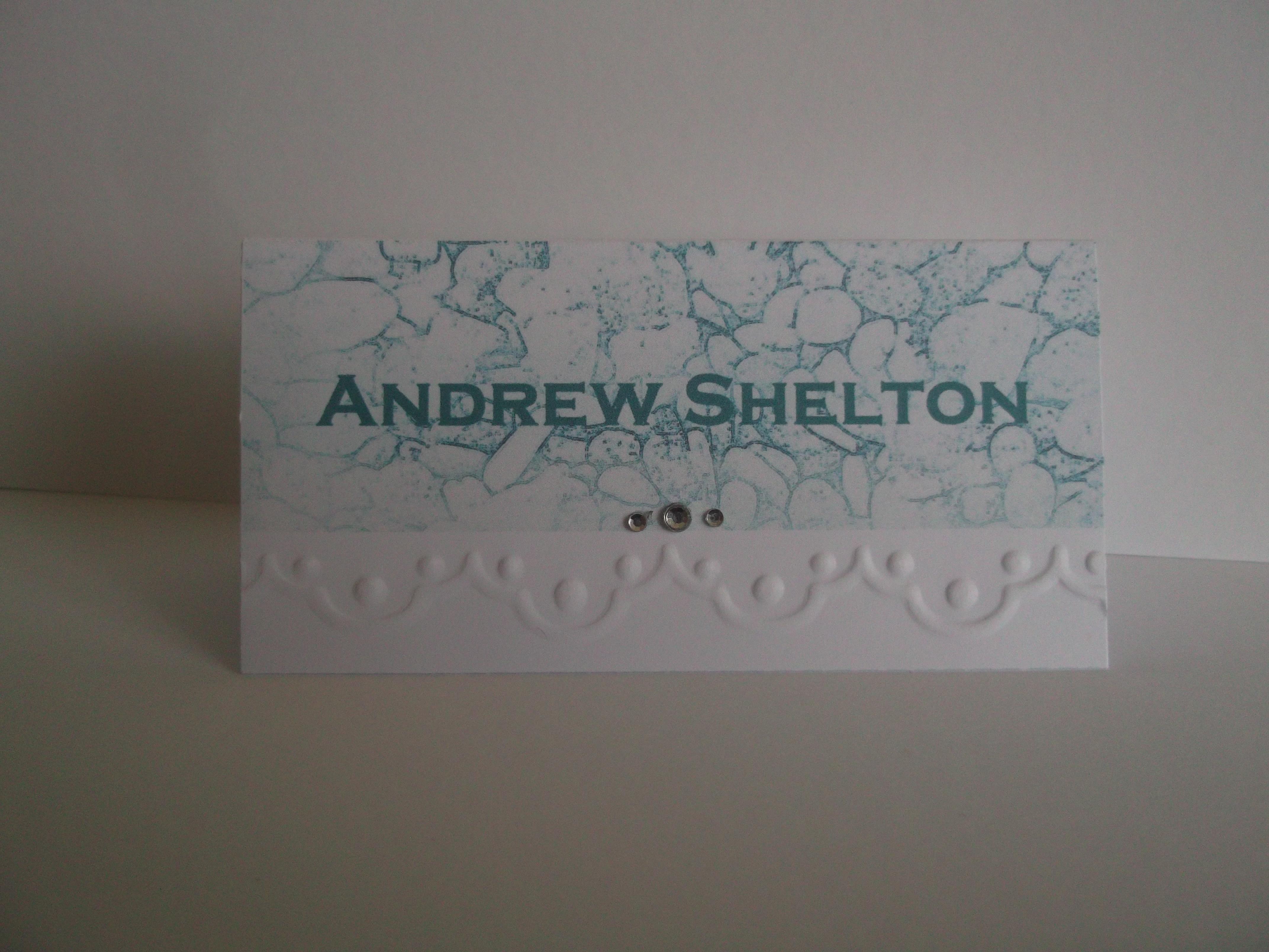 Shoreline Name Card