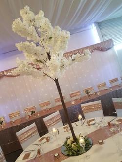 Cream Deluxe Blossom Tree