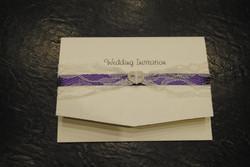 Pocket fold day invitation