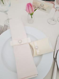 Dior Bow Napkin Ribbon & Favour