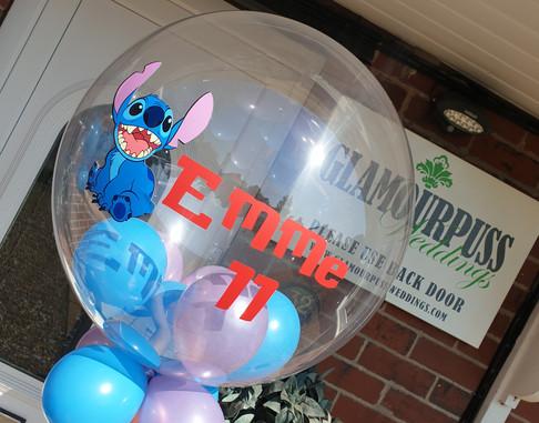 Lilo & Stitch bubble balloon