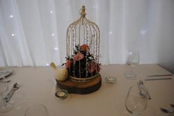 Beaded Birdcage