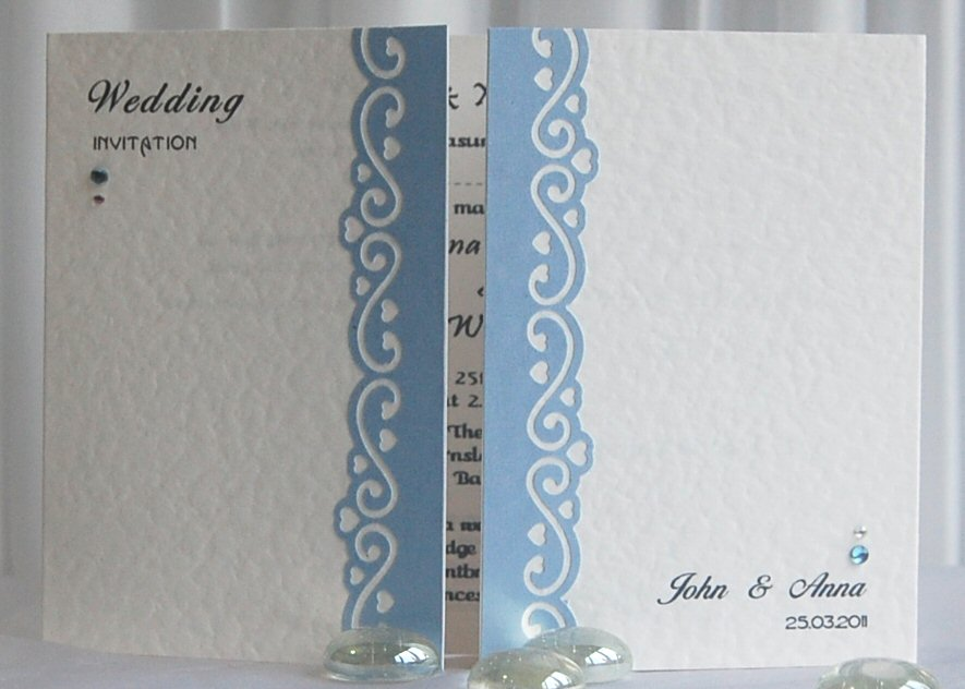 Timeless Gate fold Invitation