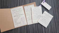 Mason Jar Rectangle Fold Invitation