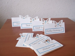 Flutter Butterfly Name Cards