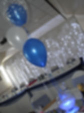 Small Fishbowl hire with Balloons