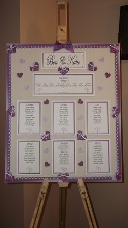 Entwined Table Plan