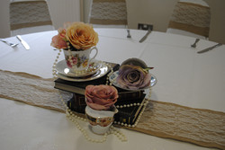 Trio of teacups