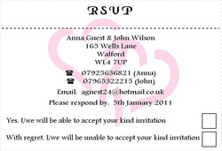 Entwined RSVP