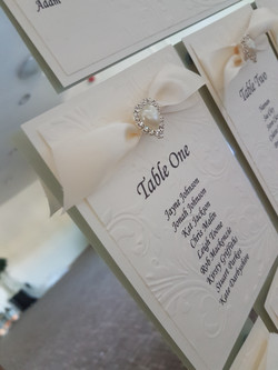 Tying The Knot Table Plan