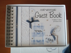 Vintage Luggage Guest Book