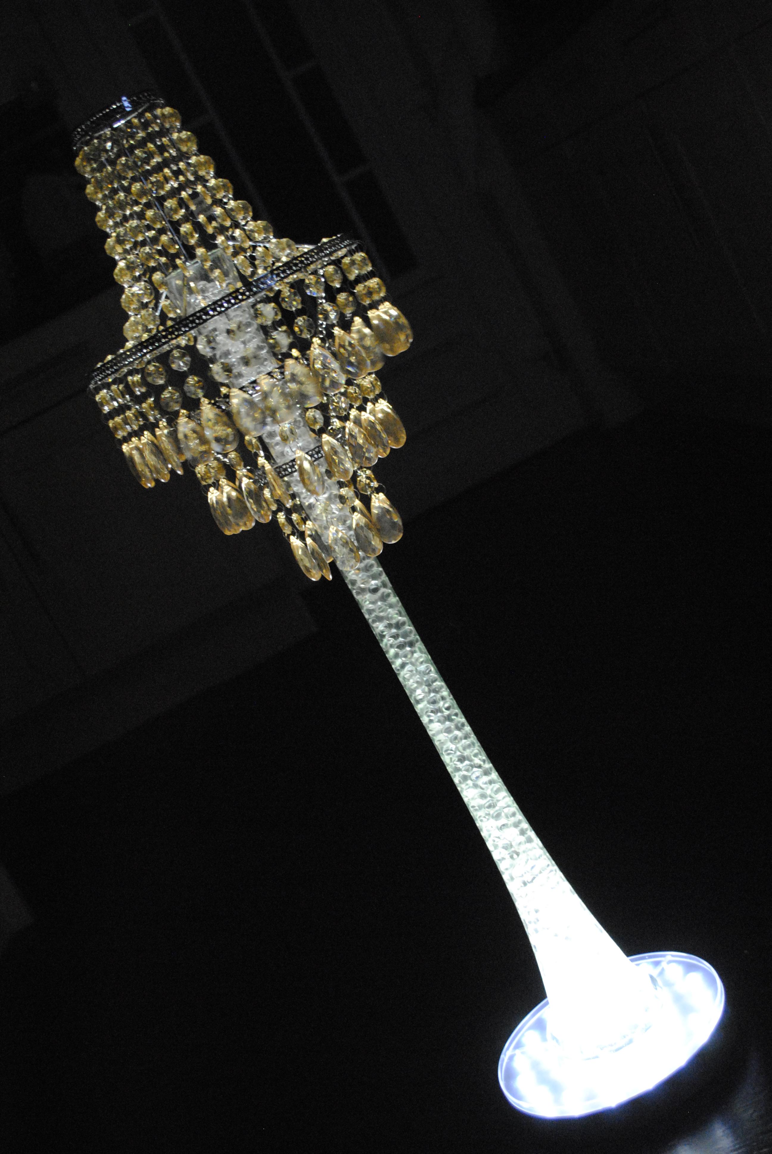 Champagne Opal Chandelier