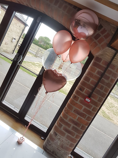 Single Plain Latex Balloon addition, to make cluster